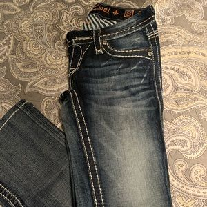 Rock revival jeans- clover style